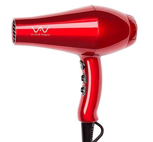 Tack vare den magnifika glansiga röda designen och matte black  concentrator-fästet har denna hårtork allvarliga moderna vibrationer. 0b8d3ad84c5d1